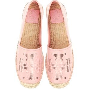 Tory Burch nappa leather espadrilles